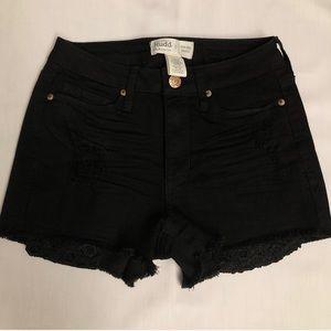 Mudd Shorts - MUDD BLACK SHORTS